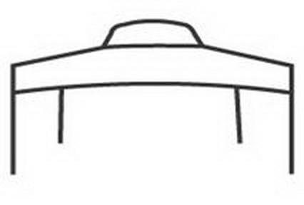 Two side pleats